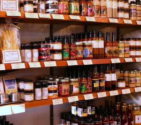 A Large Selection of Gourmet Foods from Oregon & Washington