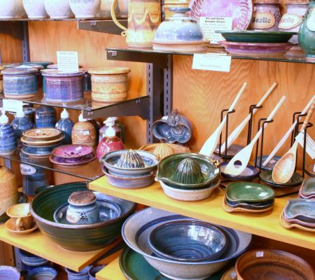 Great Selection of Pottery at Our Store!